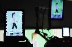 green screen video team