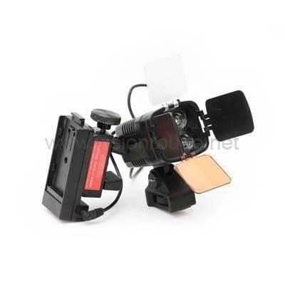 led on camera spot