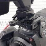 C300 canon hot shoe fixed
