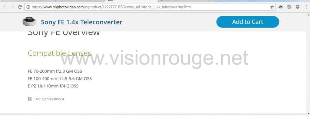 hire don t trust the internet tele converter sony 1.4x SEL 18 110 E Lens