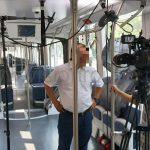 bts shooting inside tramway shanghai