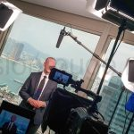 teleprompter elevator pitch camera operator with kit Hongkong freelancer on-demand