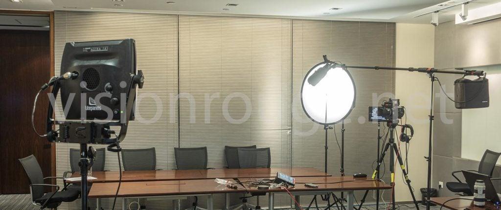 hire English Top video service Cameraman, Light, prompter