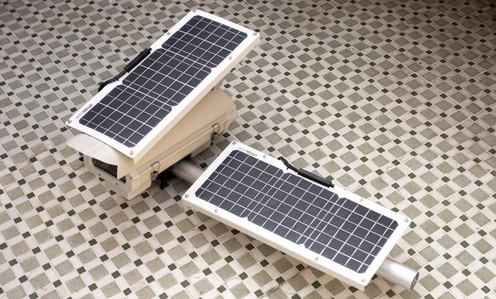 Solar panels to power long duration DIY photo project