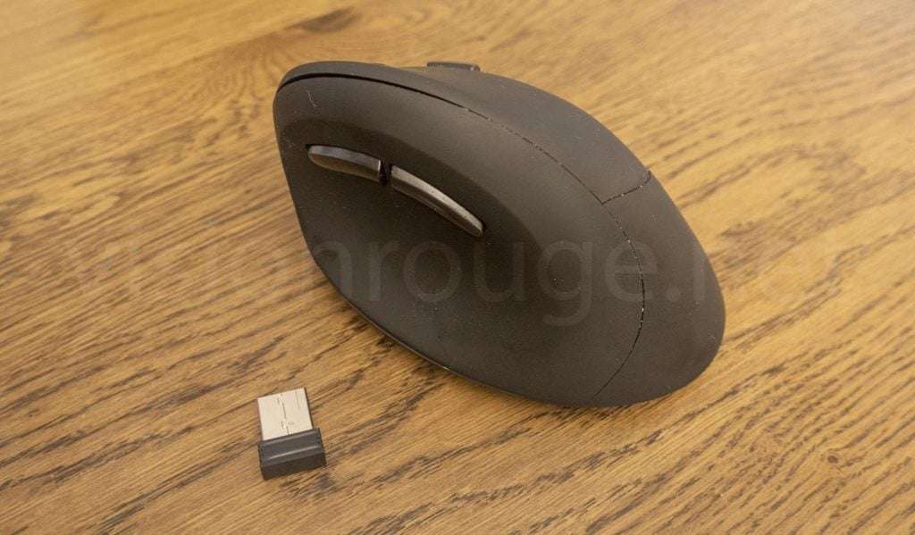 Autley silent Ergonomic Wireless mouse jump scroll error