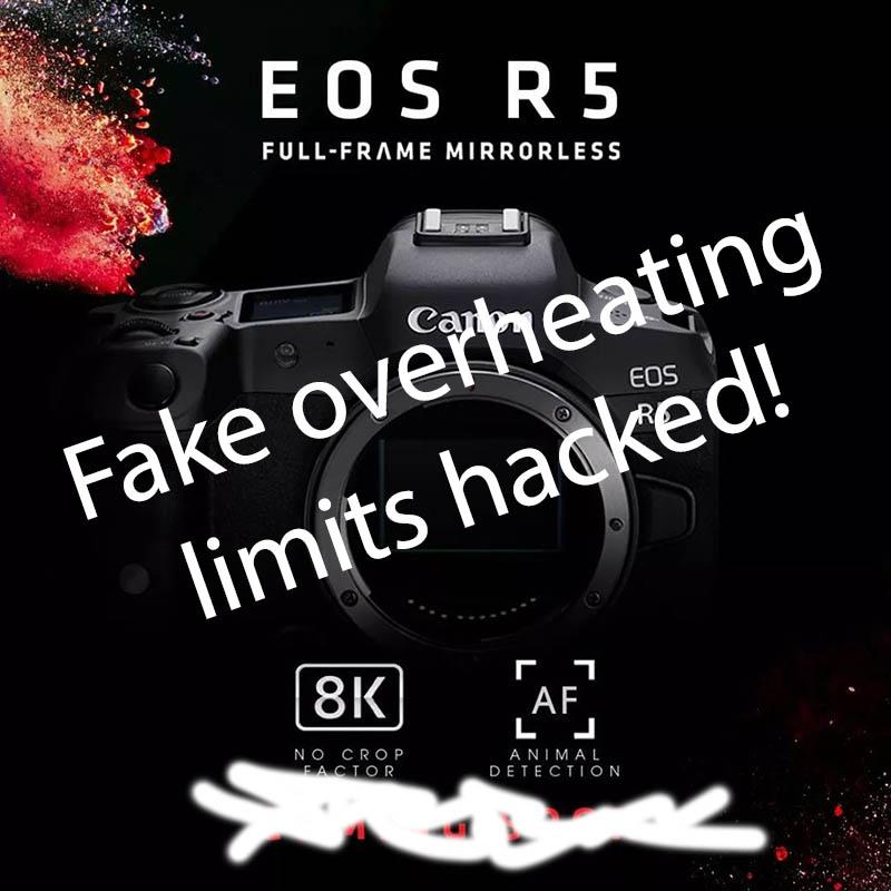 4K overheating R5 hack